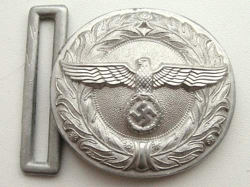 Alu Land Customs official buckle