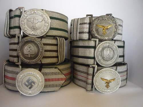 Brocade belt collection