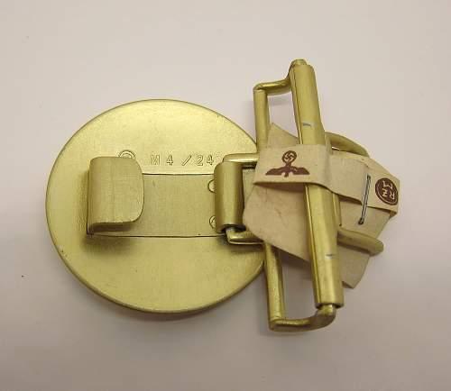NSDAP Political Leader's Buckle - M4/24