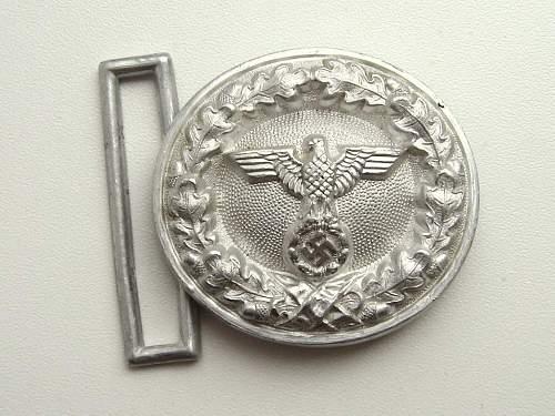 Unknown - WW2 German Buckle & Belt