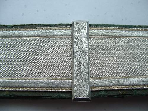 Police SS Buckle and Brocade