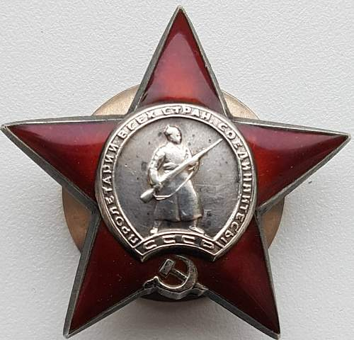 Order of the Red Star 4 Digit Serial Fake?