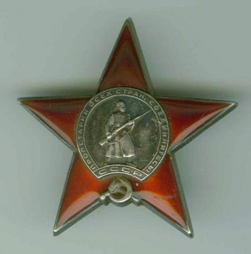 Early Red Star #29124 Real?