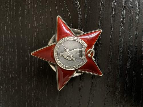 Red star order authenticity check?