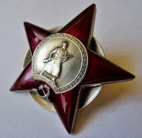 Red Star Order #3553 -  Wearing duplicate or fake?