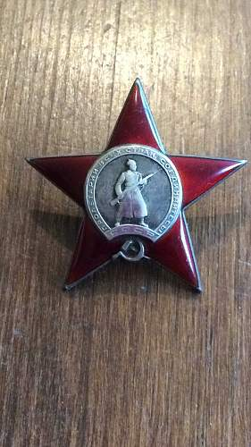 Order of the Red Star #341259 Opinions