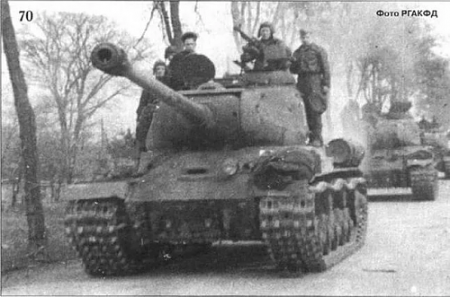 Red Star awarded to tank mechanic for advance on Berlin