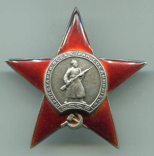 Red Star 124040 to a Vehicle Battalion Commander
