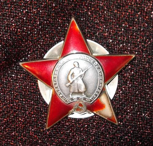 Order of the Red Star, #1,203,067