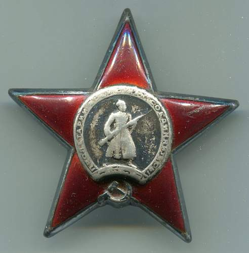 Order of the Red Star, #593403, Signals Squad Leader