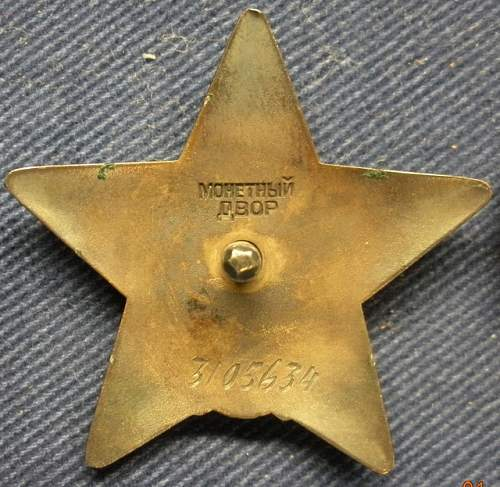 Order of the Red Star, 3105634