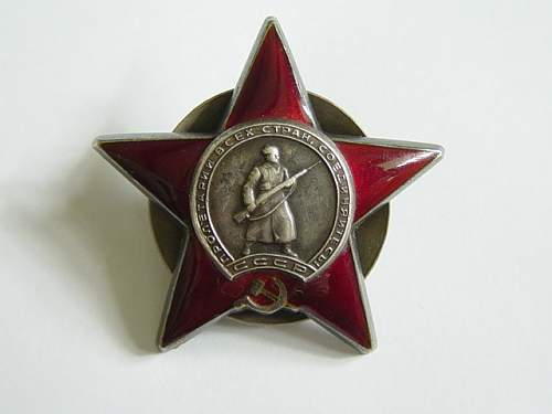 Order of the Red Star: my two contributions, 1495564 & 1598848