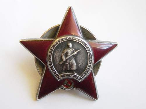 Click image for larger version.  Name:Order of the Red Star. 2.jpg Views:68 Size:132.5 KB ID:2977
