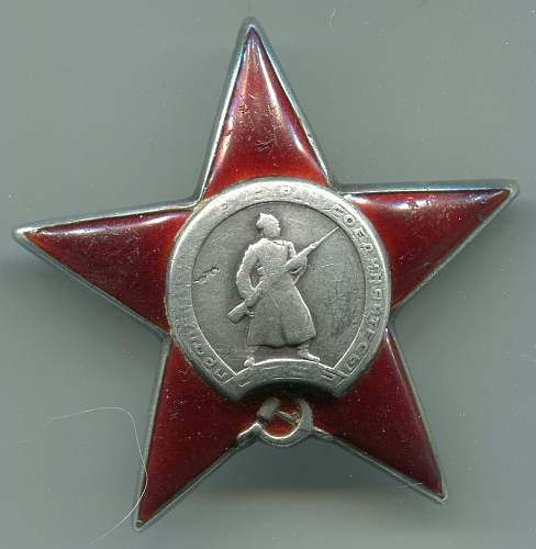 Order of the Red Star, 497354, Combat Engineer