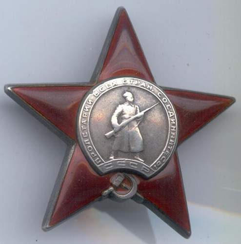 Order of the Red Star, Nr. 112336