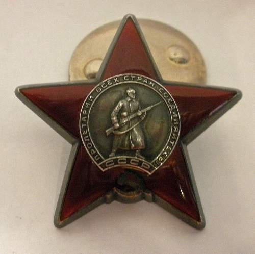 Order of the Red Star, 3105634, Long Service