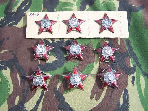 My Orders of the Red star
