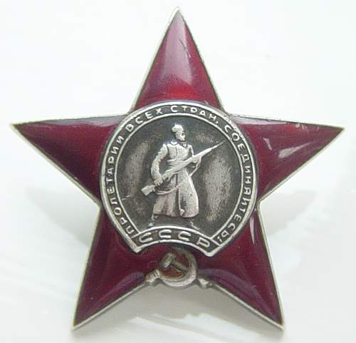 Click image for larger version.  Name:Order of the Red Star 1835635.jpg Views:93 Size:122.8 KB ID:34446