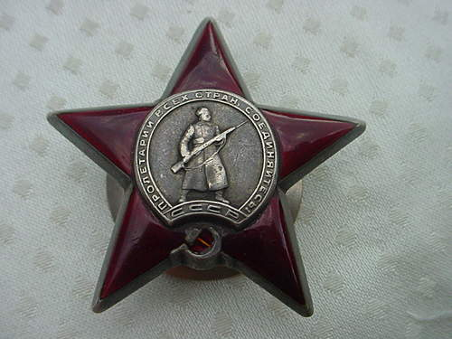Order of Red Star: 698774