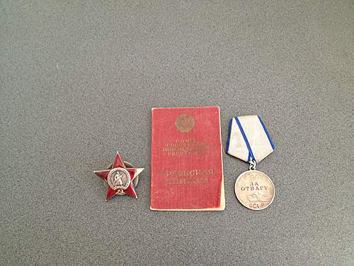 Order of the Red Star number 1377745