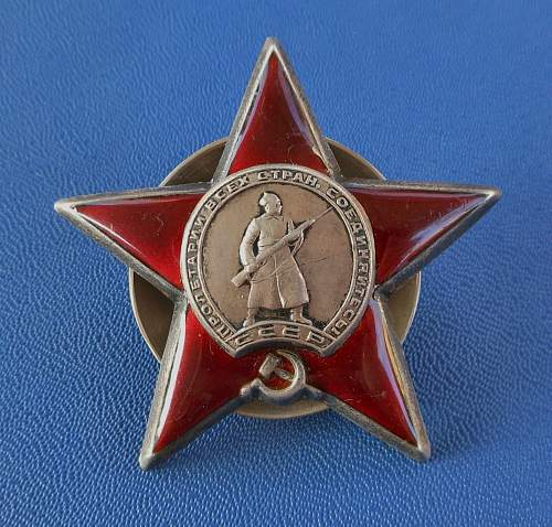 Opinions on this Order of the Red Star, please?