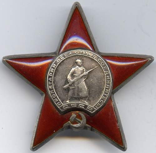 Order of the Red Star, #1120136, 1st Belorussian Front