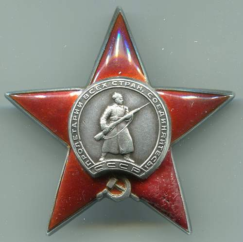 Order of the Red Star, #215960, Northern Fleet