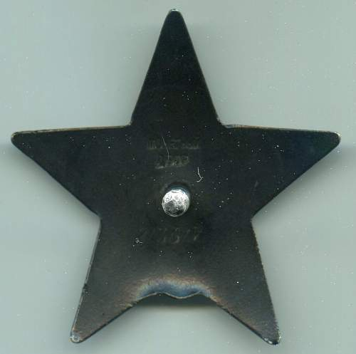 Order of the Red Star, #813617, 1st Baltic Front