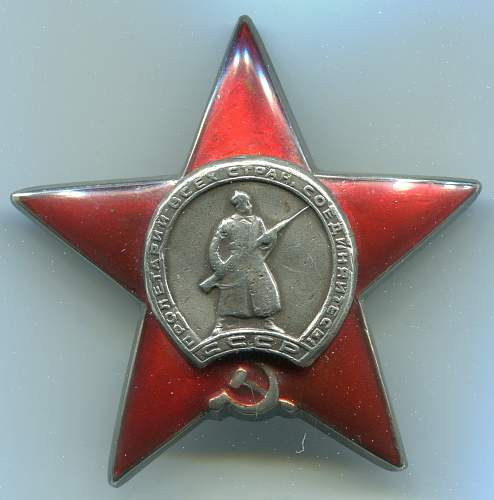 Order of the Red Star, #1812589, Horse Scout