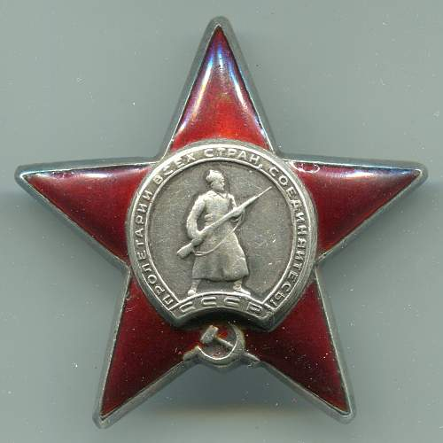 Order of the Red Star, #2027382, Dental Technician, Pacific Fleet