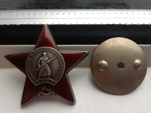 Order Of The Red Star opinions