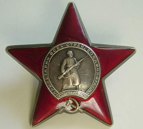 Order of the Red Star, 3024436.