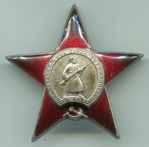 Order of the Red Star, #290396, Aircraft Navigator, 142nd Transport Aviation Regiment