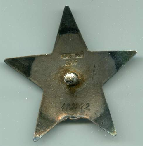 Order of the Red Star, #479772, Sniper, 585th Rifle Regiment, 130th Rifle Division, 5th Shock Army