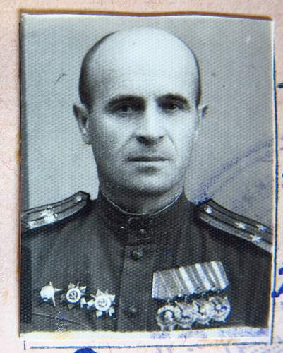 Order of the Red Star, #297964, Deputy Chief of Communications, 5th Shock Army