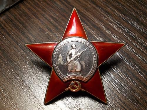 Red star  158524
