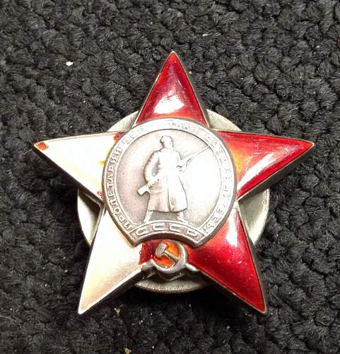 Dropped my Red Star today , Damaged  , repair help ?