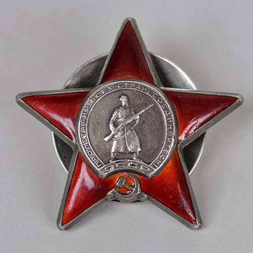 Help with order of the Red Star
