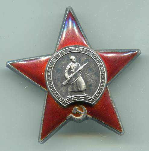 Order of the Red Star, #1496149, Nurse, Temporary Military-Medical Train #1041, 2nd Belorussian Front
