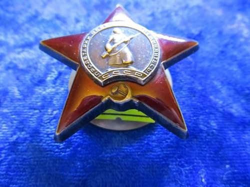 Original award?