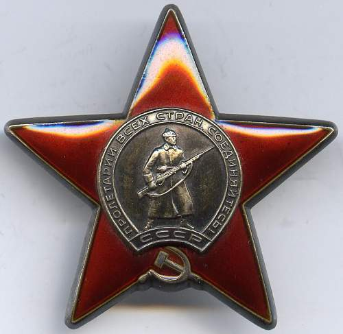 Order of the Red Star, #3766134, Scout/Machine Gunner, 177th Motorised Rifle Regiment, Afghanistan