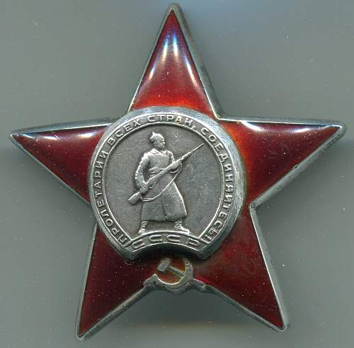 Order of the Red Star, #2584610, Machinegunner, 173rd Red Banner Rifle Division