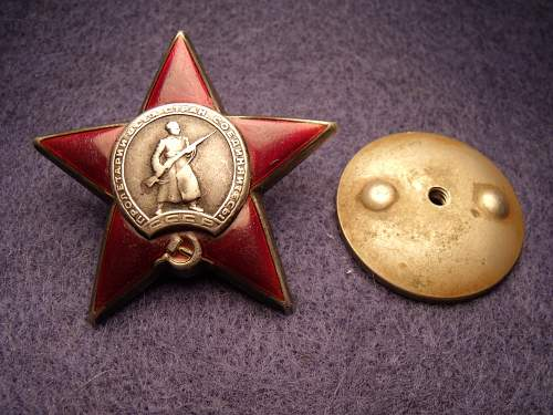 Order of the Red Star, #638475, Driver, 206th Guards Light Artillery Regiment