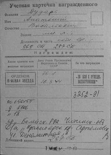 Red Star, Patriotic War group to a Ukrainian: 2577173