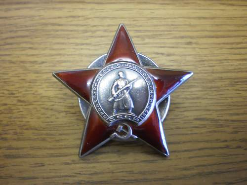 Order of the red star #2502571