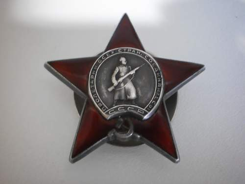 Order of the red star #1527622