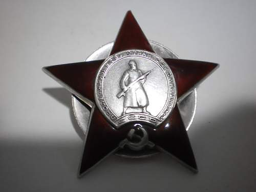 Order of the Red Star #1343945