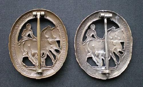 Deutsches Fahrerabzeichen im Bronze