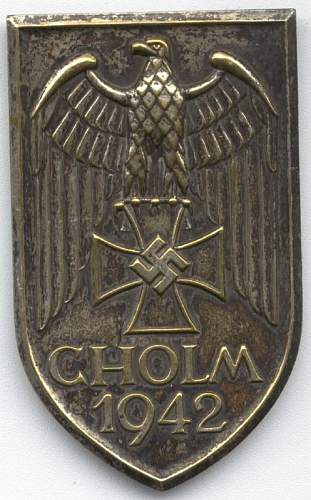 Cholm Shield Fake Gallery