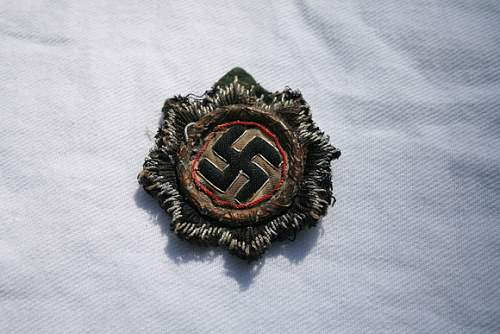 German Cross/DKiG cloth version